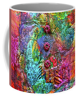 Color With Buttons Coffee Mug