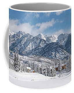 Coffee Mug featuring the photograph Colorad Winter Wonderland by Darren White