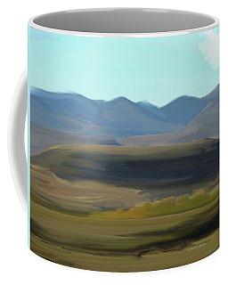 Colorado - A Skiff Of Cloud Coffee Mug by Lenore Senior