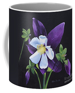 Colorado Blue Columbine Coffee Mug