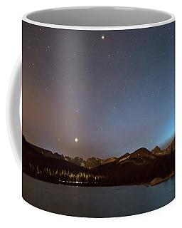Coffee Mug featuring the photograph Colorado Brainard Lake Galaxy Night by James BO Insogna