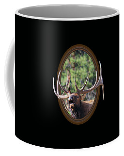 Coffee Mug featuring the photograph Colorado Bull Elk by Shane Bechler