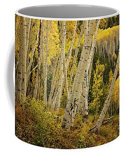 Colorado Fall Aspen Grove Coffee Mug