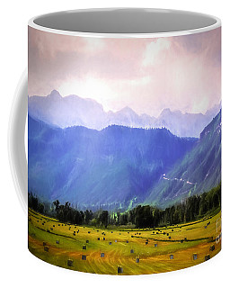 Colorado Harvest Watercolor  Coffee Mug