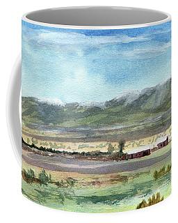 Colorado Ranch In North Park Coffee Mug by R Kyllo