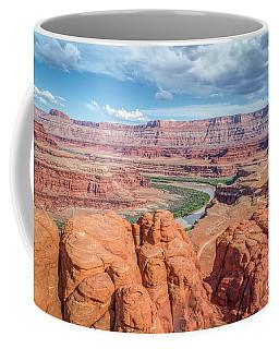 Colorado River And Chicken Corner Trail  Coffee Mug