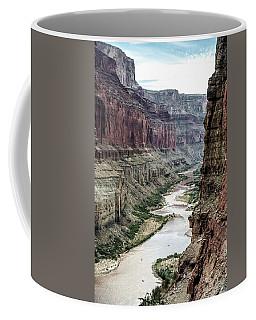 Colorado River And The East Rim Grand Canyon National Park Coffee Mug
