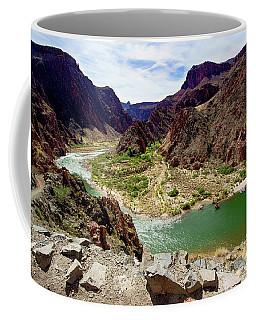 Colorado River Around Boat Beach Coffee Mug