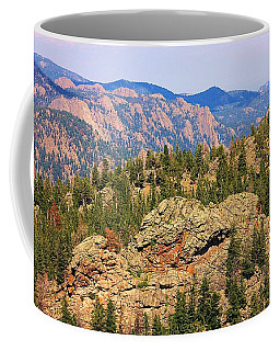 Colorado Rocky Mountains Coffee Mug by Sheila Brown