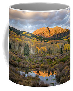 Coffee Mug featuring the photograph Colorado Sunrise by Phyllis Peterson