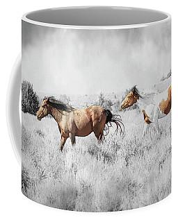 Colored Horses Coffee Mug
