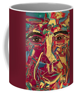 Colored Man Coffee Mug