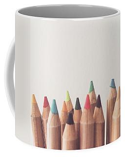 Colored Pencils Coffee Mug by Cortney Herron