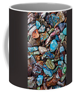 Colored Polished Stones Coffee Mug