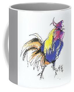 Colored Rooster Coffee Mug