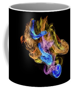 Coffee Mug featuring the photograph Colored Vapors by Rikk Flohr