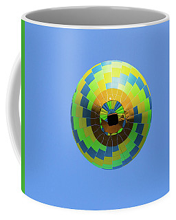 Colorful Abstract Hot Air Balloon Coffee Mug