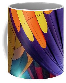 Colorful Abstract Hot Air Balloons Coffee Mug