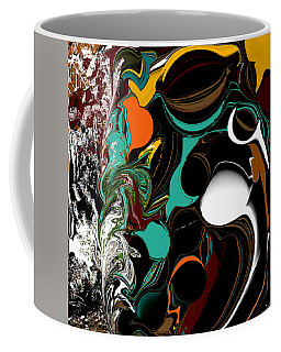 Colorful Abstract Coffee Mug by Jessica Wright