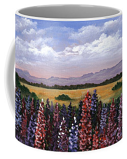 Coffee Mug featuring the painting Colorful Afternoon by Anastasiya Malakhova