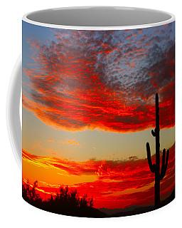Colorful Arizona Sunset Coffee Mug
