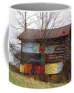 Colorful Barn Coffee Mug by Kathryn Meyer