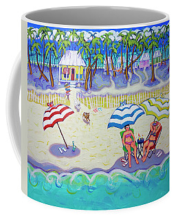 Colorful Beach Hideaway Coffee Mug
