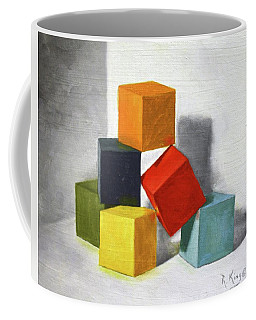 Colorful Blocks Coffee Mug