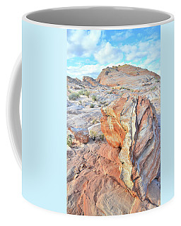 Colorful Boulder At Valley Of Fire Coffee Mug