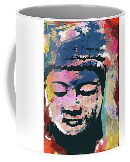 Colorful Buddha 1- Art By Linda Woods Coffee Mug
