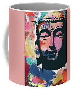 Colorful Buddha 2- Art By Linda Woods Coffee Mug