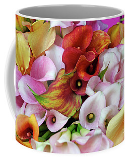 Colorful Calla Lilies Coffee Mug