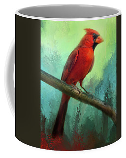 Colorful Cardinal Coffee Mug