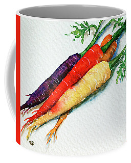 Colorful Carrots Coffee Mug