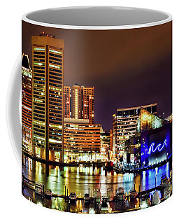 Colorful Charm City Coffee Mug
