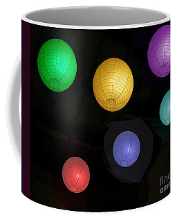 Colorful Chinese Lanterns Coffee Mug