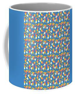 Colorful Circus Food Treats Coffee Mug