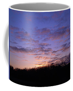 Coffee Mug featuring the photograph Colorful Clouds In The Sky by Kent Lorentzen
