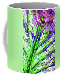 Colorful Coleus Abstract 4 Coffee Mug