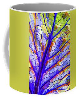 Colorful Coleus Abstract 6 Coffee Mug