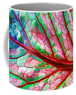 Colorful Coleus Abstract 5 Coffee Mug