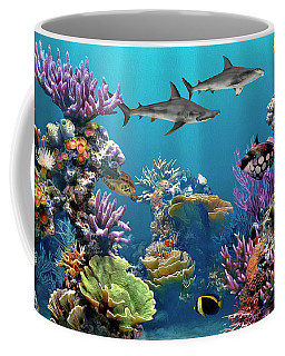 Colorful Coral Reef Coffee Mug