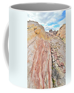 Colorful Crest In Valley Of Fire Coffee Mug