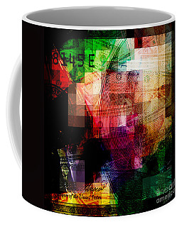 Coffee Mug featuring the photograph Colorful Currency Collage by Phil Perkins