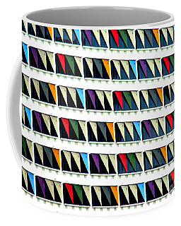 Colorful Curtainwall Coffee Mug
