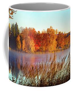 Colorful Dawn On Haley Pond Coffee Mug