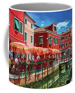 Colorful Day In Burano Coffee Mug