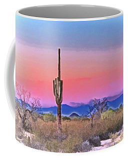 Colorful Desert Coffee Mug
