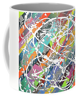 Colorful Disaster Aka Jeremy's Mess Coffee Mug
