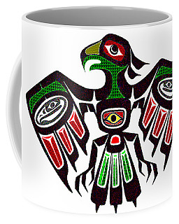 Colorful Eagle Symbol Coffee Mug